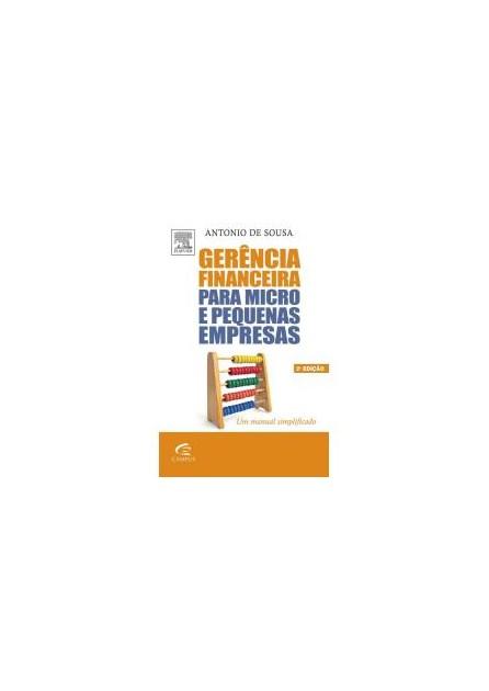 Livro - Gerencia Financeira para Micro e Pequenas Empresas - Sousa