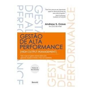 Livro - Gestão de Alta Performance - Grove 1º edição