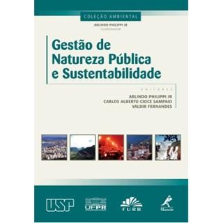 Livro - Gestão de Natureza Pública e Sustentabilidade - Philippi Jr