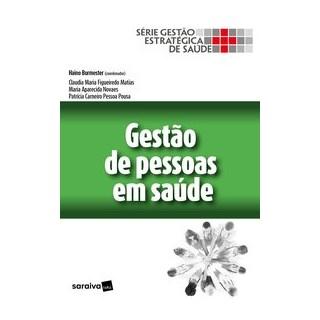 Livro - Gestão de pessoas em saúde - Burmester 1º edição