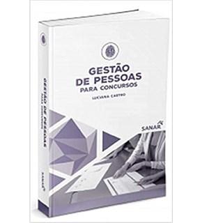 Livro Gestão De Pessoas Para Concursos - Castro - Sanar