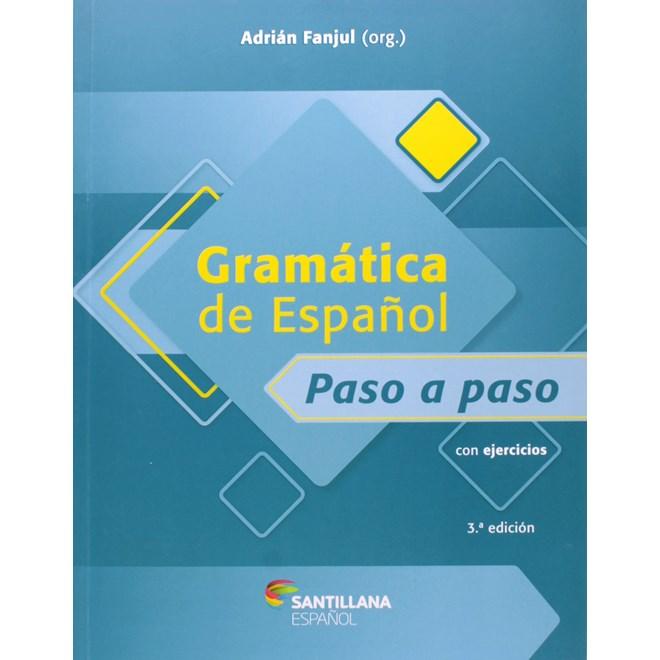 Livro Gramática de Español Paso a Paso - Fanjul - Santillana