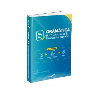 Livro - Gramática para Concursos e Residências em Saúde - Ramanzini - Sanar