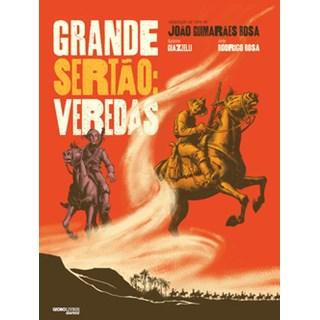 Livro - Grande Sertão: Veredas - Graphic novel - Rosa - Globo