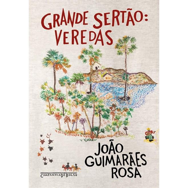 Livro Grande Sertão: Veredas - Guimarães Rosa - Companhia das Letras