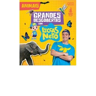 Livro - Grandes Descobertas Com Luccas Neto - Animais