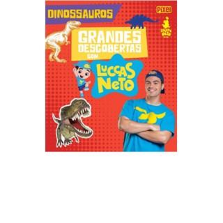 Livro - Grandes Descobertas com Luccas Neto - Dinossauros