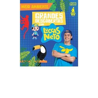 Livro - Grandes Descobertas Com Luccas Neto - Meio Ambiente