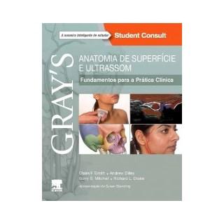 Livro - Gray's Anatomia de Superfície e Ultrassom -  Smith
