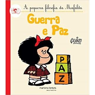 Livro - Guerra e Paz - Quino - Martins Fontes