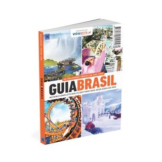 Livro - Guia Brasil - Roteiro Completo dos 25 destinos mais desejados - EDITORA EUROPA 1º edição