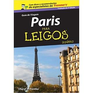 Livro - Guia De Viagem Paris Para Leigos - Pientka