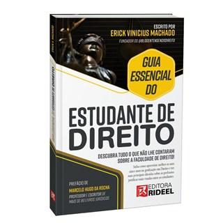 Livro Guia Essencial do Estudante de Direito - Machado - Rideel