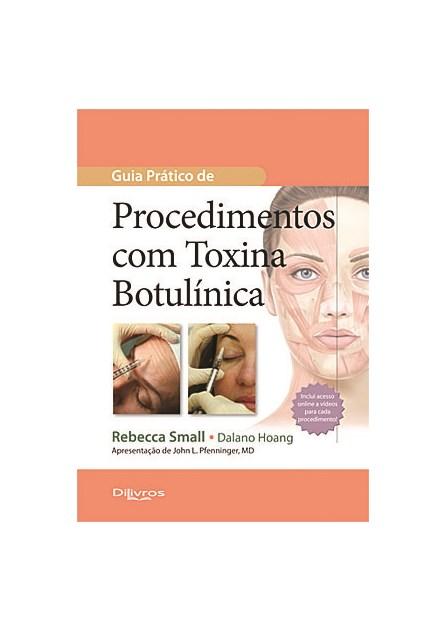 Livro - Guia Prático de Procedimentos com Toxina Botulínica - Small