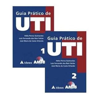 Livro - Guia Prático de UTI - Guimarães AMIB 2 volumesBF