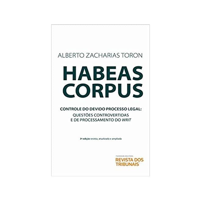 Livro - Habeas Corpus no Supremo Tribunal Federal