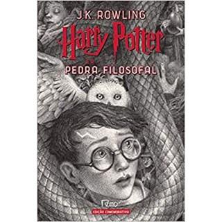 Livro - Harry Potter e a Pedra Filosofal: Edição Comemorativa Dos 20 Anos da Coleção - Rowling - Rocco