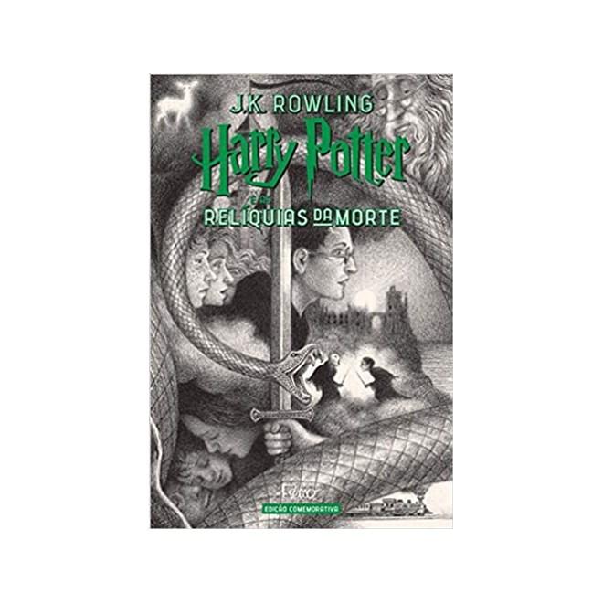 Livro - Harry Potter e as Relíquias da Morte: Edição Comemorativa dos 20 Anos da Coleção - Rowling - Rocco
