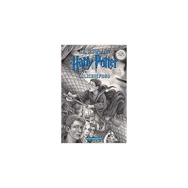 Livro - Harry Potter e o Cálice de Fogo (Edição Comemorativa 20 anos - Rowling - Rocco