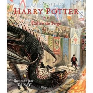 Livro - Harry Potter E O Cálice De Fogo - Edição Ilustrada - Rowling