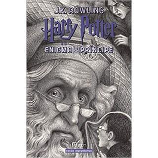 Livro - Harry Potter e o Enigma do Príncipe: Edição Comemorativa Dos 20 Anos da Coleção - Rowling - Rocco