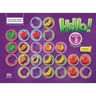Livro - Hello Kinder  3 - Educação Infantil - Ática