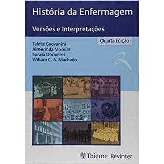 Livro -  História da Enfermagem - Versões e Interpretações - Geovanini