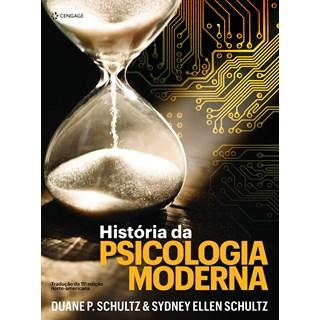 Livro História da Psicologia Moderna - Schultz - Cengage