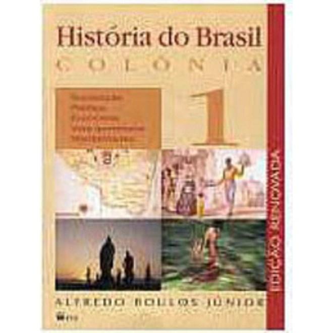 Livro - Historia Do Brasil 1 - Boulos Junior