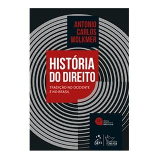Livro - História do Direito no Brasil - Wolkmer