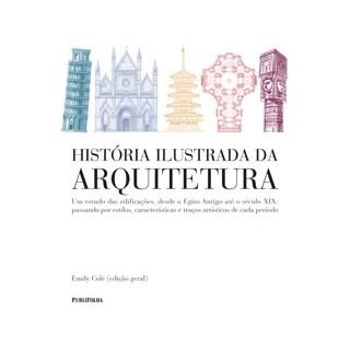Livro - História Ilustrada da Arquitetura - Cole