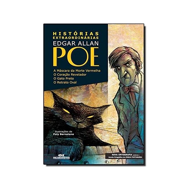 Livro - Histórias Extraordinárias (Nova Ortografia - Edgar Allan Poe