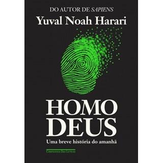 Livro - Homo Deus - Uma breve História do Amanhã - Harari