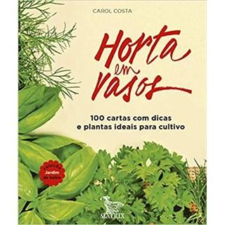 Livro - Horta em vasos -Costa -Baralho