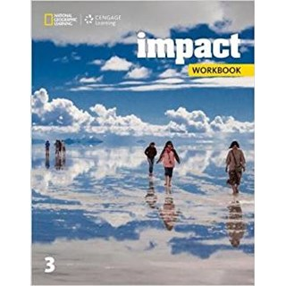 Livro - Impact American 3 - Workbook - First Edition - Cengage
