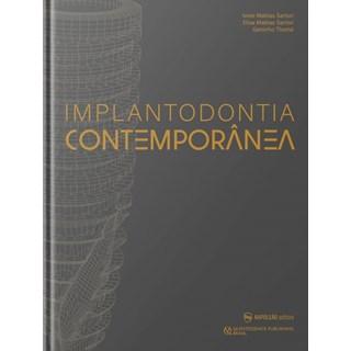 Livro Implantodontia Contemporânea - Sartori - Napoleão