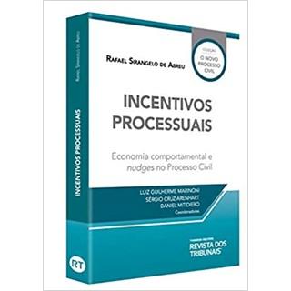Livro - Incentivos Processuais - Abreu - Revista dos Tribunais