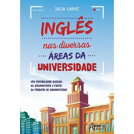 Livro - Inglês nas Diversas Áreas da Universidade - Larrê
