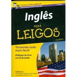 Livro - Inglês para Leigos  - Brenner