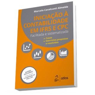 Livro - Iniciação à Contabilidade IFRS e CPC - Facilitada e Sistematizada - Almeida