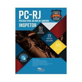 Livro - Inspetor de Policia - PC RJ 2020 - Equipe Alfacon 2º edição