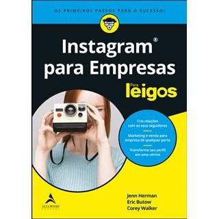 Livro - Instagram Para Empresas Para Leigos - Corey - Alta Books