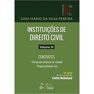 Livro - Instituições de Direito Civil - Vol. III - Contratos - Pereira