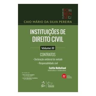Livro - Instituições de Direito Civil - Vol. III - Contratos - PEREIRA 24º edição