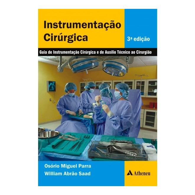 Livro - Instrumentação Cirúrgica - Parra