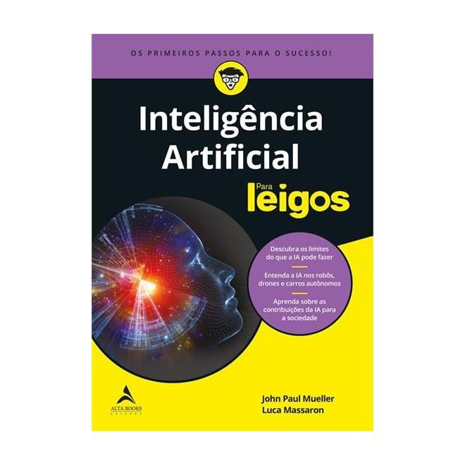 Livro - Inteligência Artificial para Leigos - Mueller - Alta Books