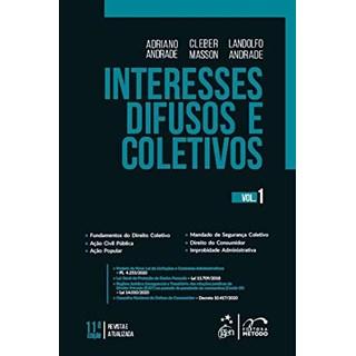 Livro - Interesses Difusos e Coletivos - Vol. 1 - ANDRADE 10º edição