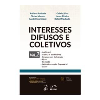 Livro - Interesses Difusos e Coletivos - Vol. 2 - Masson