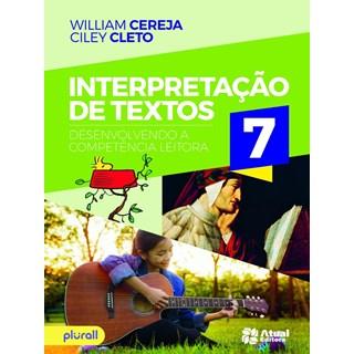 Livro - Interpretação de Textos - 7 Ano - Cereja