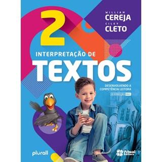 Livro - Interpretação de Textos BNCC- 2 Ano - Cereja - Atual